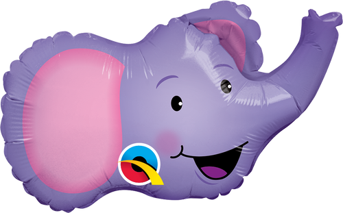 "14"" Elated Elephant - AIR FILL"