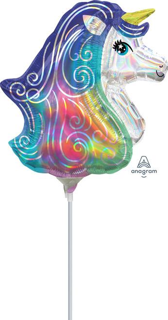 "14"" Iridescent Unicorn - AIR FILL"