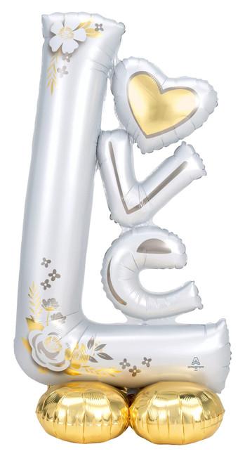 "58"" L-O-V-E Wedding  AirLoonz"