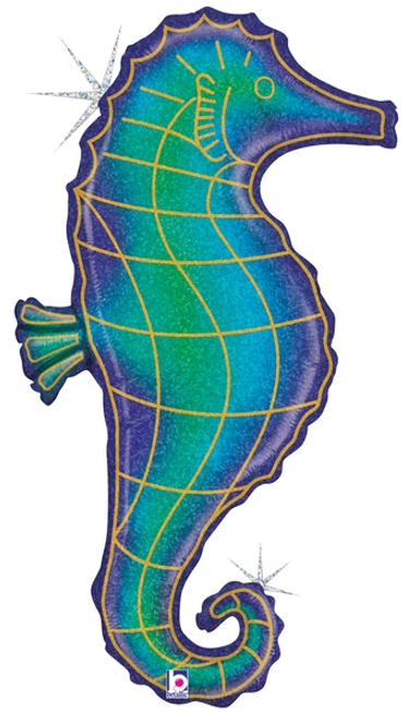"""36"""" Seahorse Holographic"""