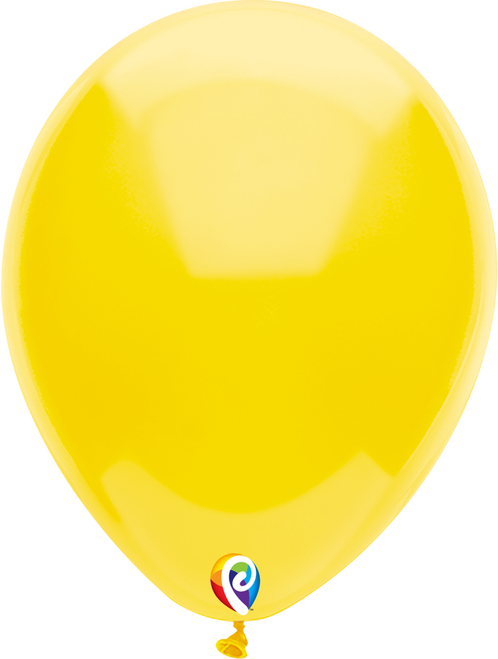 "7"" Funsational Yellow - 50 Ct."