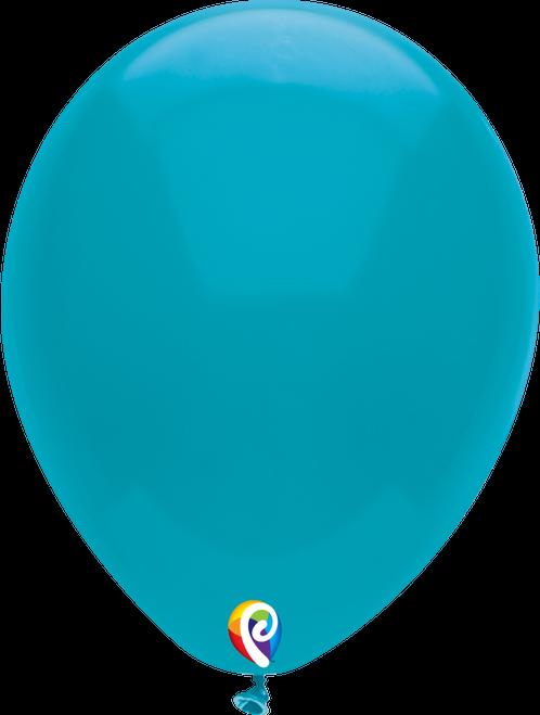 "7"" Funsational Turquoise - 50 Ct."