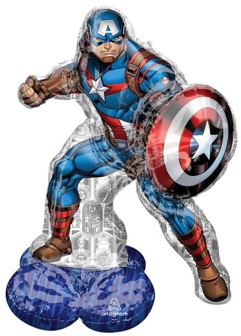 """48"""" Captain America AirLoonz"""