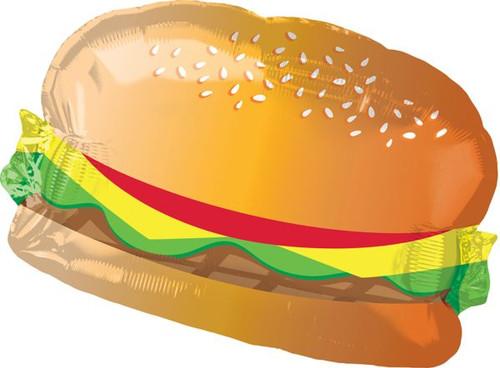 """26"""" Hamburger with Bun Shape"""