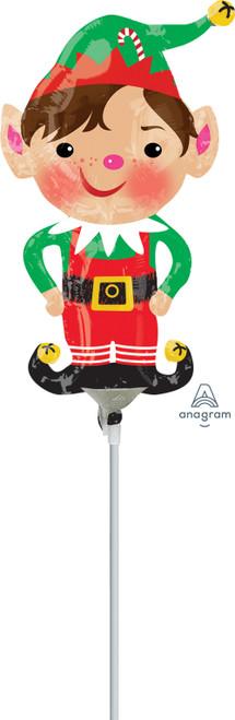 "14"" Jolly Christmas Elf - AIR FILL"