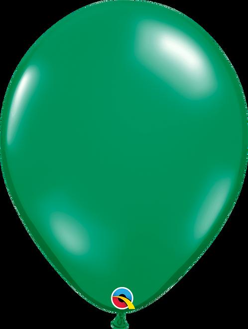 "16"" Qualatex Emerald Green - 50 Ct."