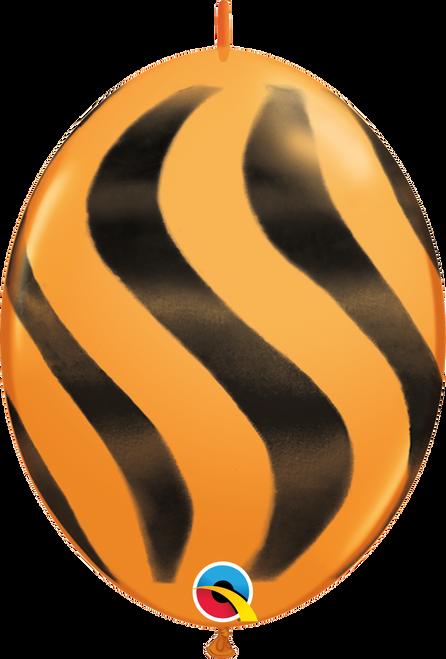 "12"" QuickLink Orange with Black - 50 Ct."