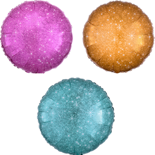 """17"""" Faux Sparkle Rounds"""