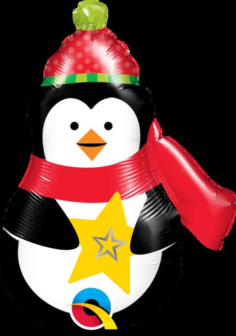 "14"" Precious Penguin - AIR FILL"