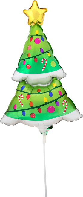 """14"""" Lighted Christmas Tree - AIR FILL"""