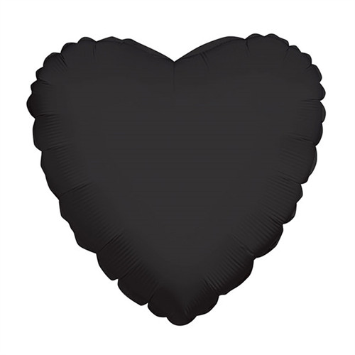 "18"" Black Heart"