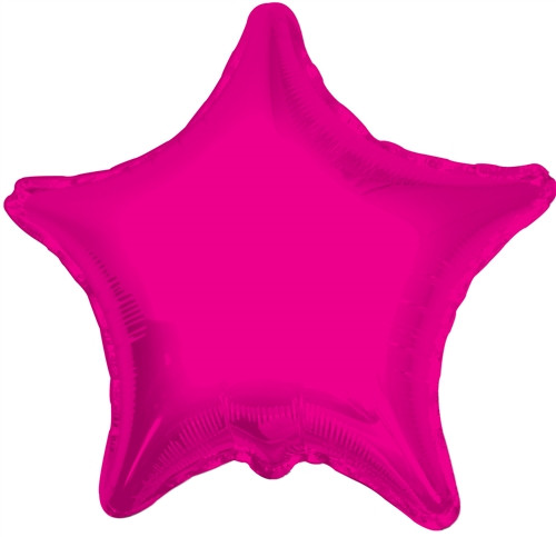 "18"" Hot Pink Star"