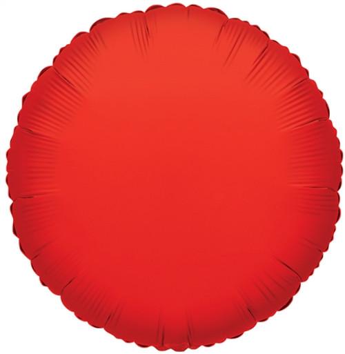 """18"""" Red Round"""