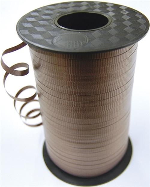 Brown Curling Ribbon