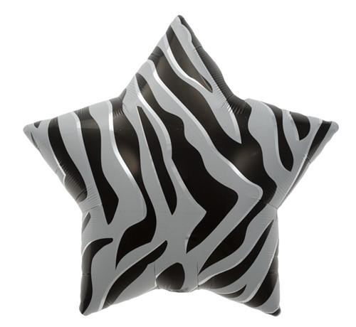 """22"""" Black Zebra Stripe"""