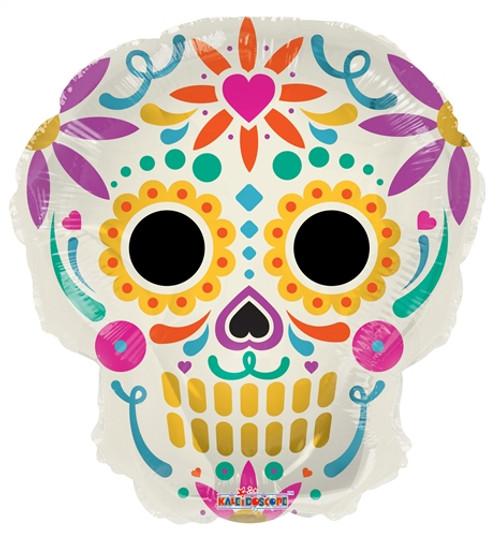 "18"" Colorful Skull"