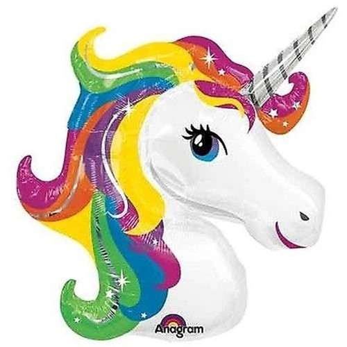 "33"" Rainbow Unicorn"