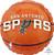"""18"""" San Antonio Spurs"""