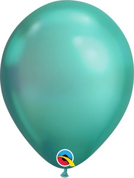 "11"" Qualatex  Chrome Green - 100 Ct."