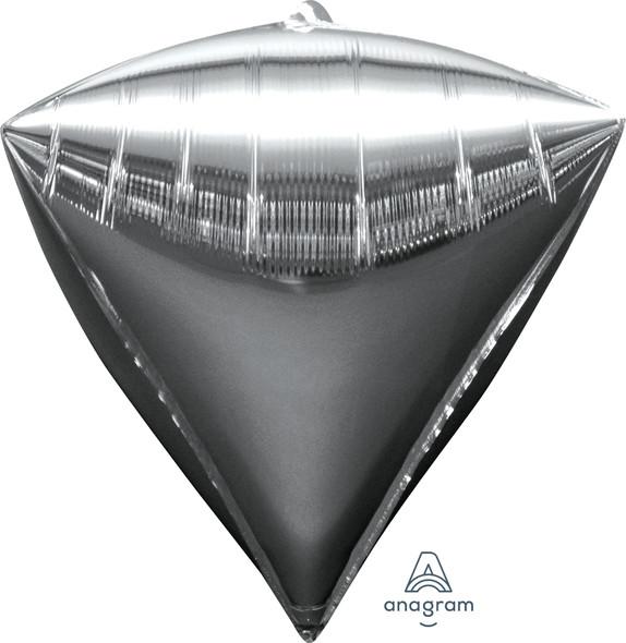 """17"""" Silver Diamondz - 3 Ct."""