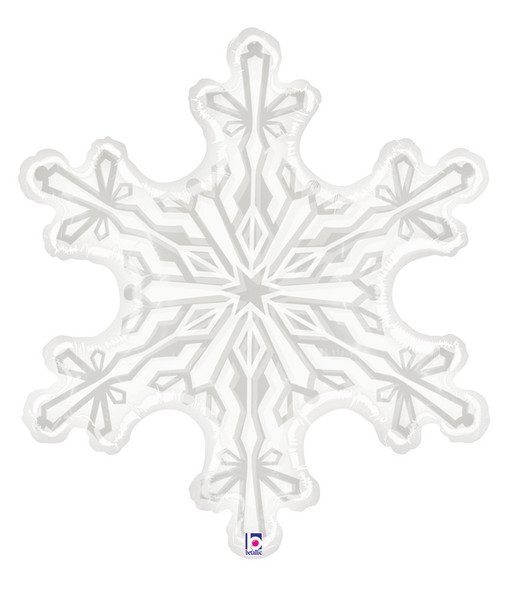 "38"" Clear Snowflake"