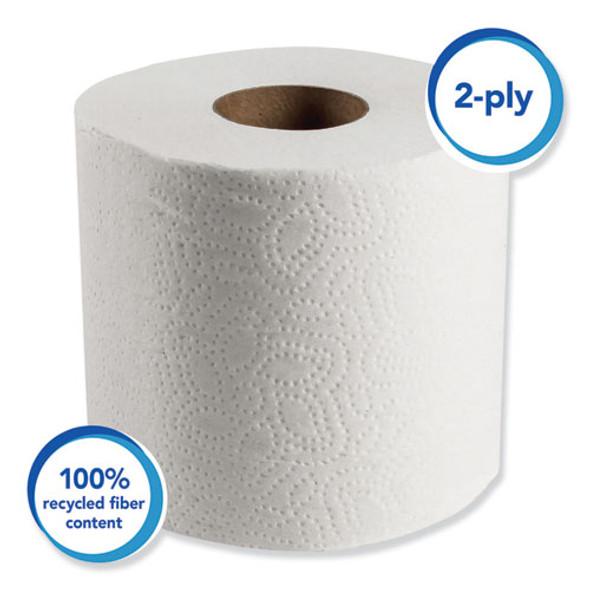 Scott Essential Bathroom Tissue, 2-Ply - 80 Rolls