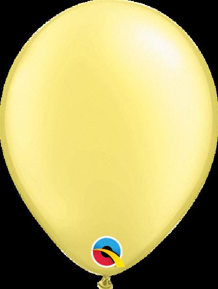 """5"""" Qualatex Pearl Lemon Chiffon - 100 Ct."""