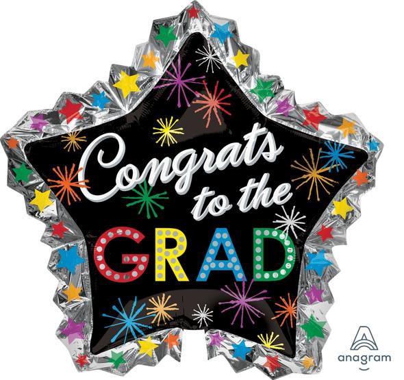 """34"""" Congrats Grad Bursts"""