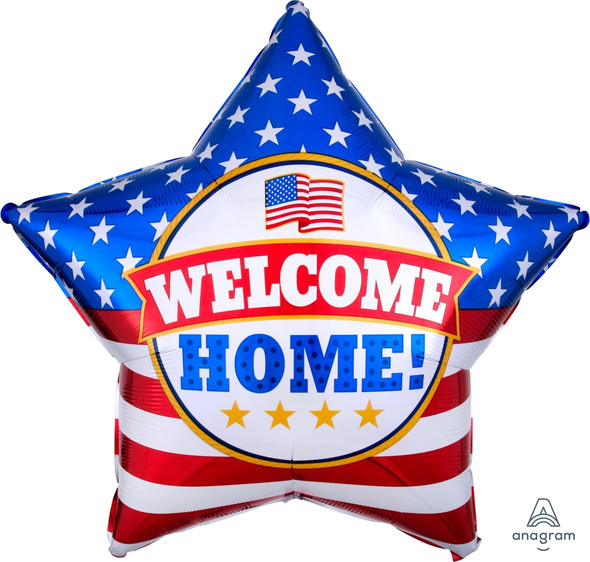 """28"""" Welcome Home Patriotic"""