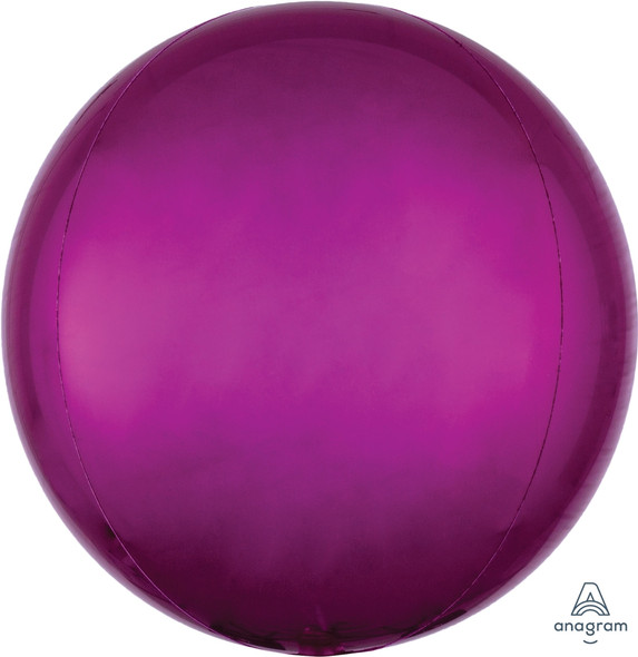 "16"" Bright Pink Orbz - 3 ct"