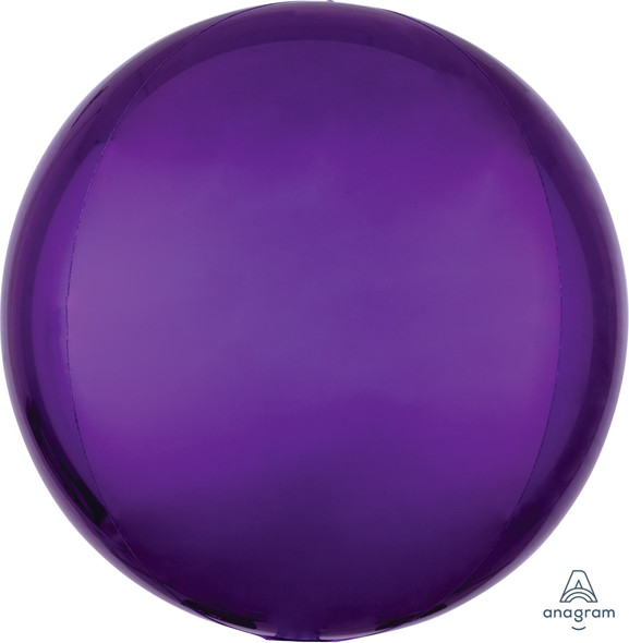 "16"" Purple Orbz - 3 ct"