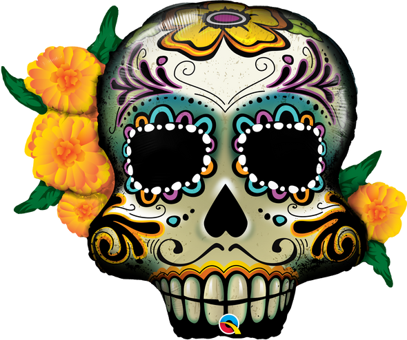 "38"" Day of the Dead Skull"