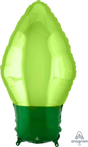 "22"" Green Christmas Light Bulb"