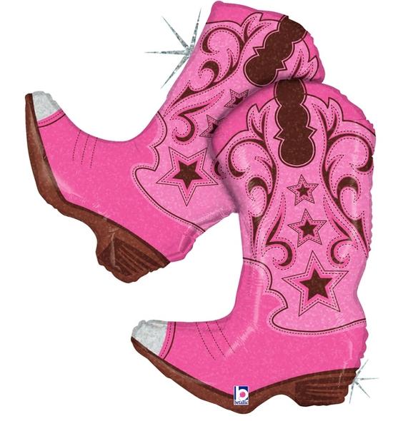 "36"" Pink Dancing Boots"