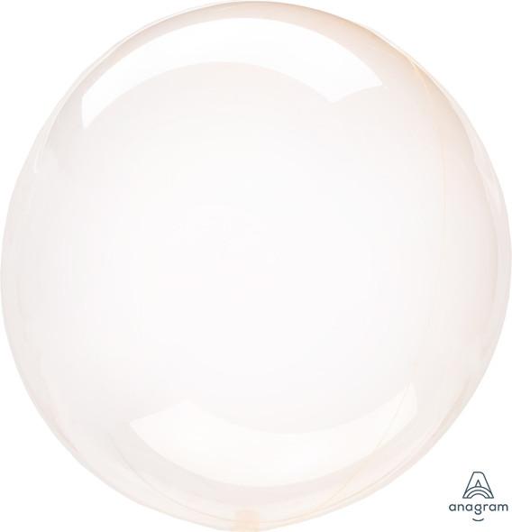 "10"" Orange Crystal Clearz Petite 1 Ct."