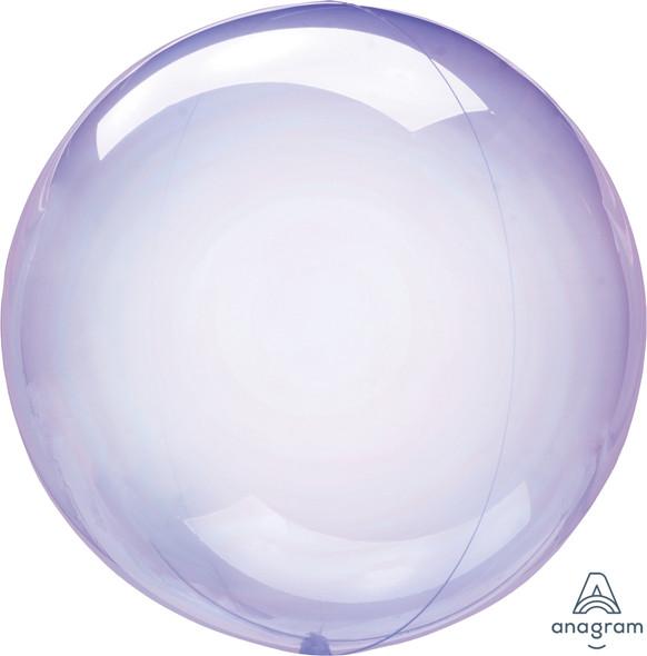 "10"" Purple Crystal Clearz Petite 1 Ct."
