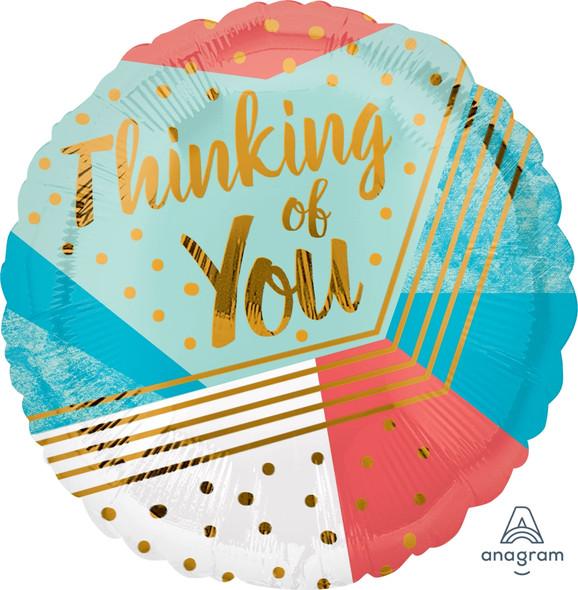 "17"" Thinking of You Geometric"