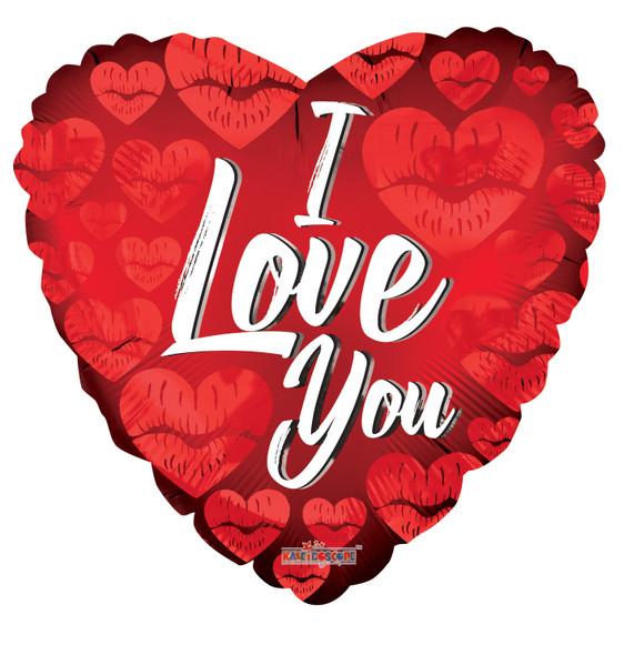 "18"" I Love You Kisses"