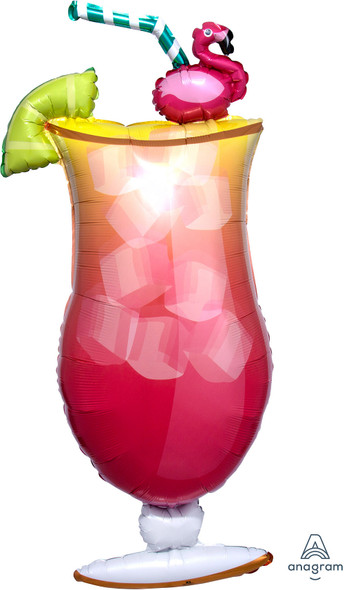 "41"" Let's Flamingle Drink"