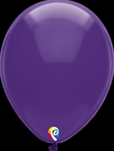 """12"""" Funsational Crystal Purple - 50 Ct."""