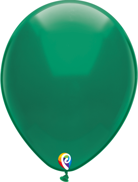 "12"" Funsational Crystal Green - 50 Ct."