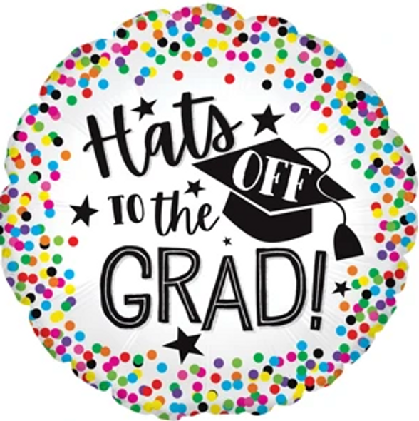"17"" Hats Off to Grad"