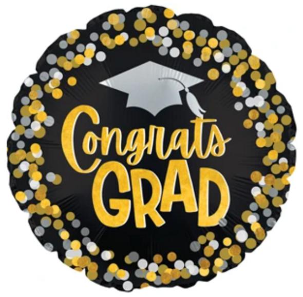 """17"""" Congrats Grad Dots"""