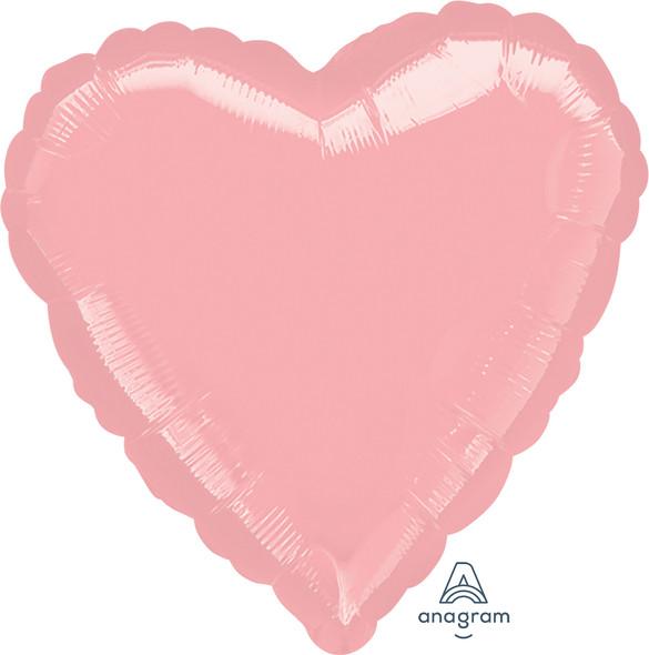"32"" Pastel Pink Heart"