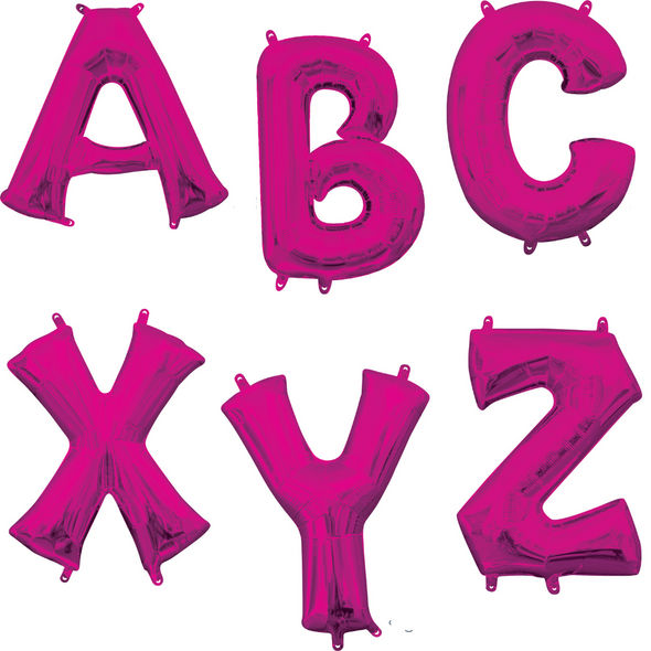 """34"""" Pink Letters"""