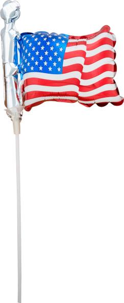 """14"""" American Flag - AIR FILL"""