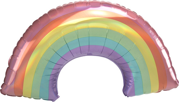 "34"" Iridescent Pastel Rainbow"