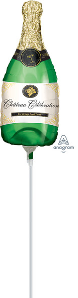"""14"""" Champagne Bottle - AIR FILL"""