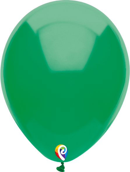 "7"" Funsational Green - 50 Ct."