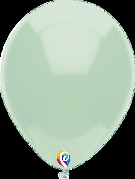 "7"" Funsational Mint Green - 50 Ct."